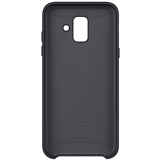Coque et housse Samsung Coque double (noir) - Galaxy A6 - Autre vue