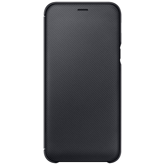 Coque et housse Samsung Flip Wallet (noir) - Galaxy A6
