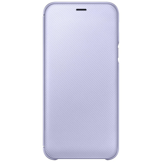 Coque et housse Samsung Flip Wallet (lavande) - Galaxy A6