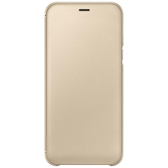 Coque et housse Samsung Flip Wallet (or) - Galaxy A6