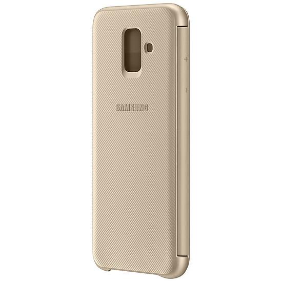 Coque et housse Samsung Flip Wallet (or) - Galaxy A6 - Autre vue