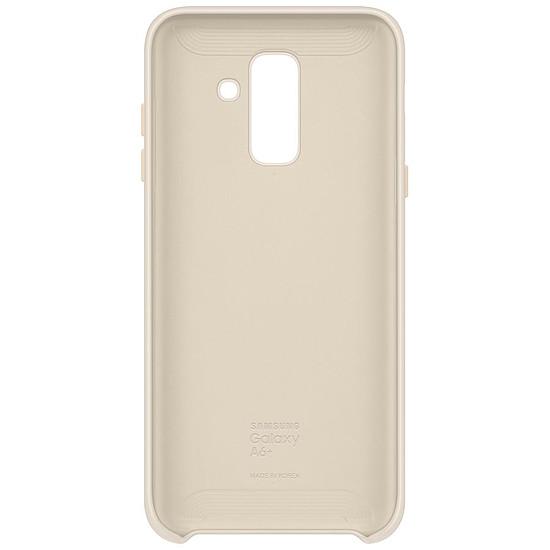 Coque et housse Samsung Coque double (or) - Galaxy A6+ - Autre vue