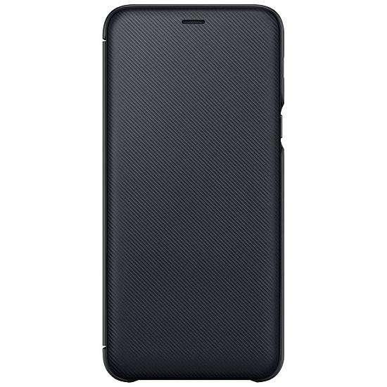Coque et housse Samsung Flip Wallet (noir) - Galaxy A6+