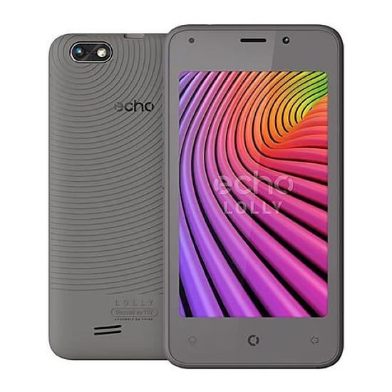 Smartphone et téléphone mobile Echo Lolly (gris)