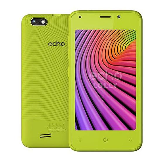 Smartphone et téléphone mobile Echo Lolly (vert)