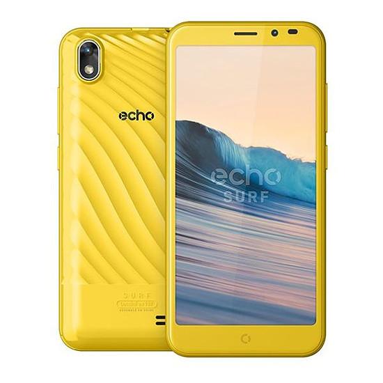 Smartphone et téléphone mobile Echo Surf (jaune)