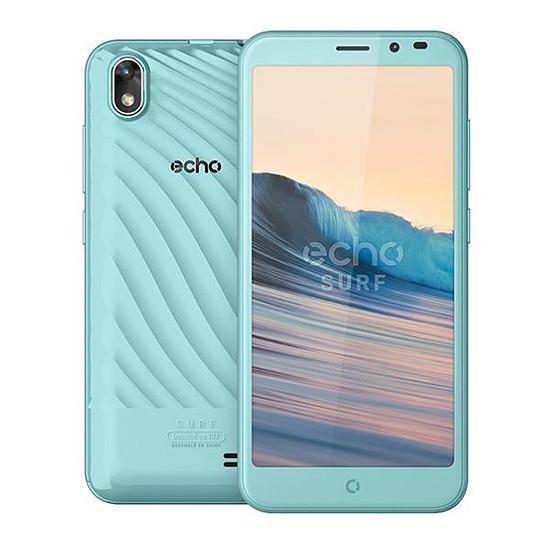 Smartphone et téléphone mobile Echo Surf (bleu clair)