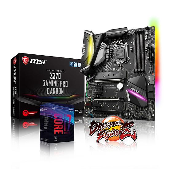 Processeur Intel Core i7 8700K + MSI Z370 Gaming pro Carbon