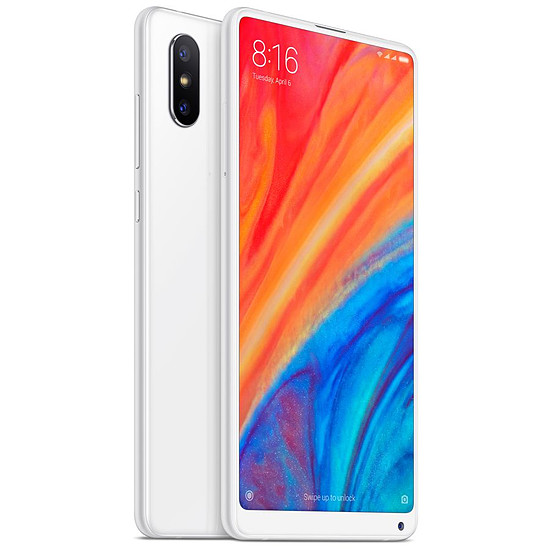 Smartphone et téléphone mobile Xiaomi Mi MIX 2S (blanc) - 64 Go - Autre vue