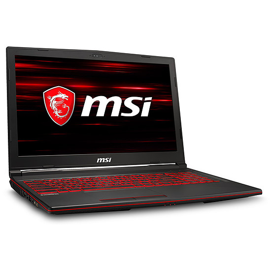 PC portable MSI GL63 9SD-1037FR 4K Edition