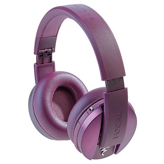 Casque Audio Focal Listen Bluetooth Chic Pourpre - Casque sans fil
