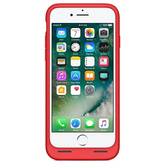Coque et housse Apple Smart Battery Case (rouge) - iPhone 7 - Autre vue