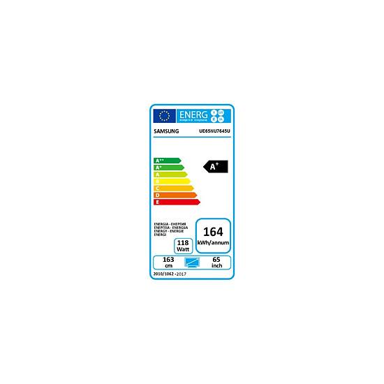 TV Samsung UE65NU7645 TV LED UHD CURVE 4K 163 cm - Autre vue