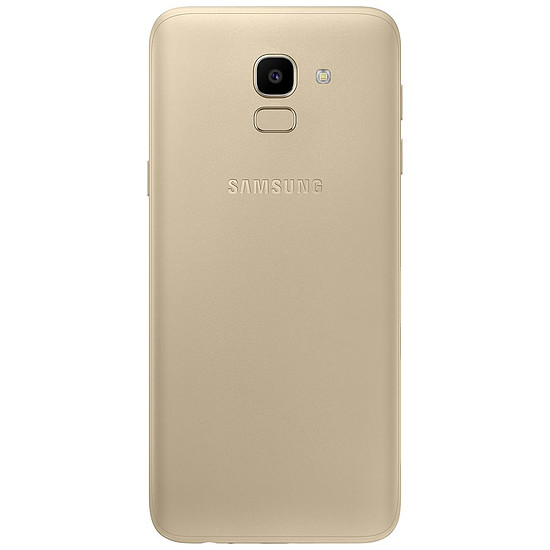 Smartphone et téléphone mobile Samsung Galaxy J6 (or) - 3 Go - 32 Go - Autre vue