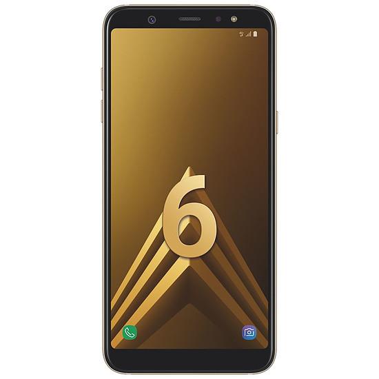 Smartphone et téléphone mobile Samsung Galaxy A6+ (or) - 3 Go - 32 Go