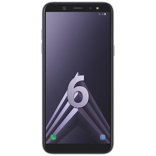 Smartphone et téléphone mobile Samsung Galaxy A6 (bleu argenté) - 3 Go - 32 Go