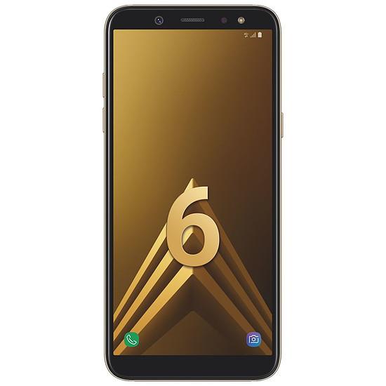 Smartphone et téléphone mobile Samsung Galaxy A6 (or) - 3 Go - 32 Go