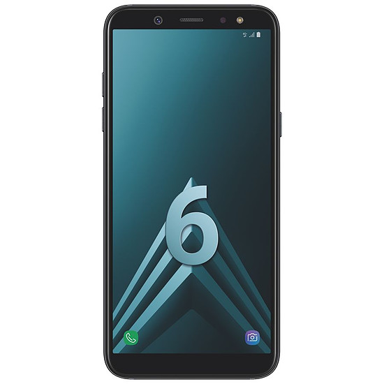 Smartphone et téléphone mobile Samsung Galaxy A6 (noir) - 3 Go - 32 Go