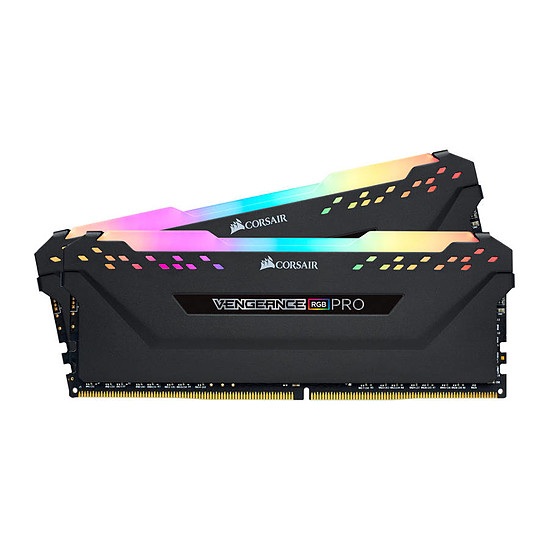 Mémoire Corsair Vengeance RGB PRO DDR4 2 x 8 Go 4000 MHz CAS 19