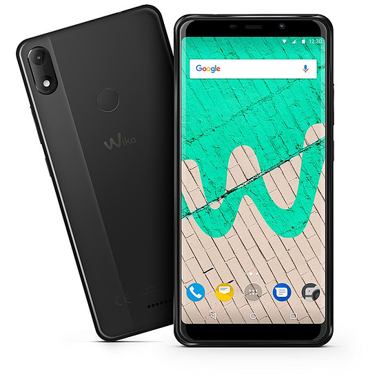 Smartphone et téléphone mobile Wiko View Max (anthracite)
