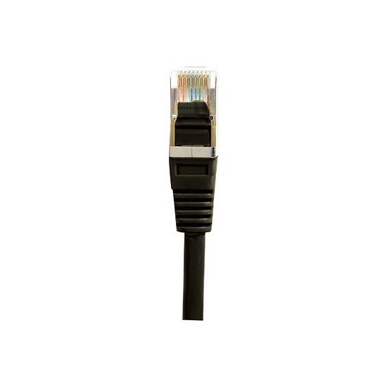 Câble RJ45 Câble RJ45 Cat 5e F/UTP (noir) - 2 m - Autre vue
