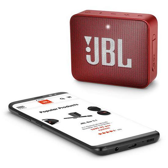 Enceinte sans fil JBL GO2 Rouge - Autre vue