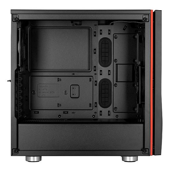 Boîtier PC Corsair Carbide SPEC-06 TG (noir) - Autre vue