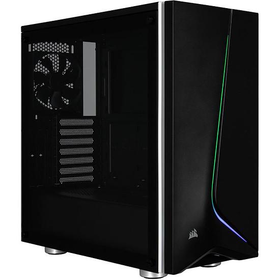 Boîtier PC Corsair Carbide SPEC-06 RGB TG (noir)