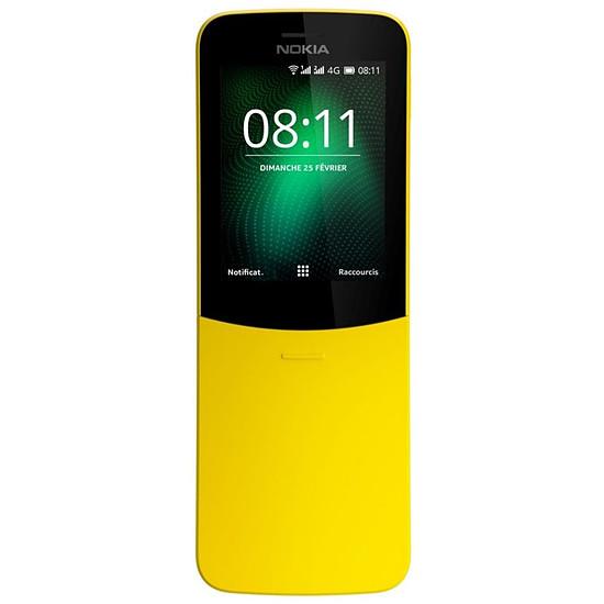 Smartphone et téléphone mobile Nokia 8110 4G (jaune) - Dual SIM