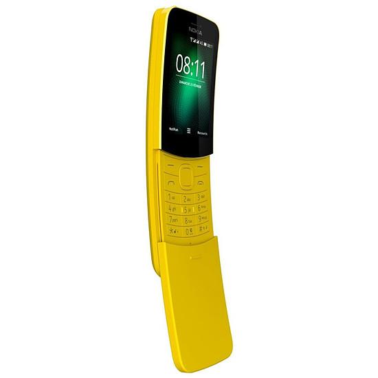 Smartphone et téléphone mobile Nokia 8110 4G (jaune) - Dual SIM - Autre vue