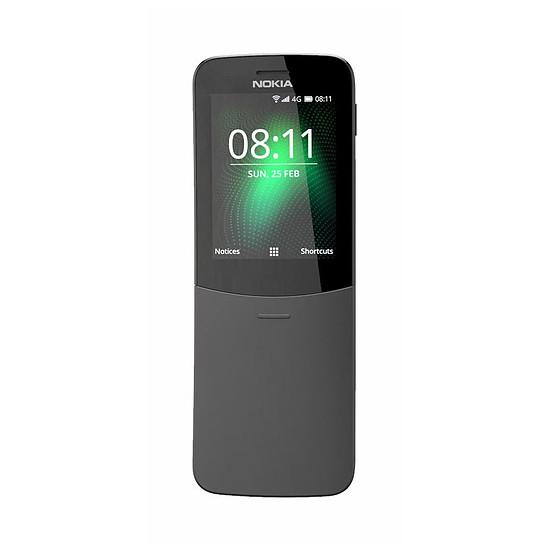 Smartphone et téléphone mobile Nokia 8110 4G (noir) - Dual SIM