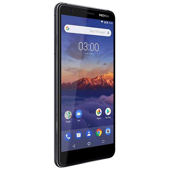 Smartphone et téléphone mobile Nokia 3.1 (noir) - Dual SIM