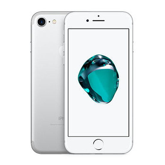 Smartphone et téléphone mobile again iPhone 7 (argent) - 128 Go - Grade A