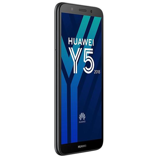 Smartphone et téléphone mobile Huawei Y5 2018 (noir) - Autre vue