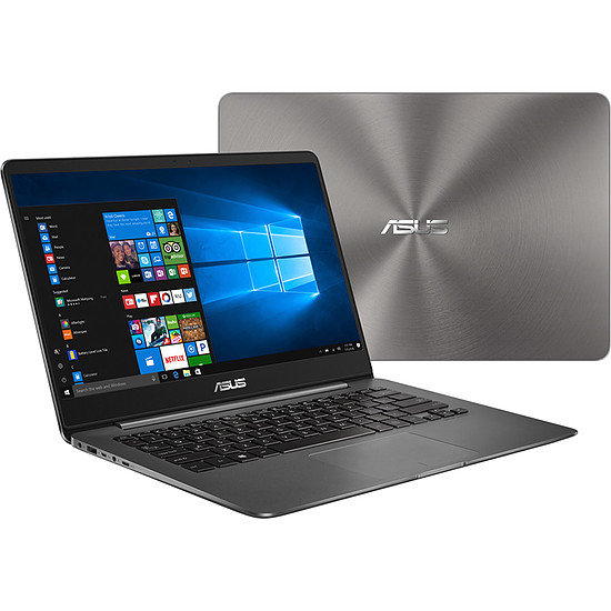 PC portable Asus ZENBOOK+GRIS-5R8256