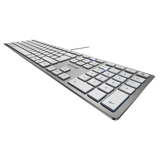 Clavier PC Cherry KC 6000 Slim - Argent - Autre vue