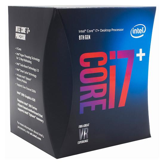 Processeur Intel Core i7+ 8700 (avec Intel Optane 16 Go M.2 NVMe)