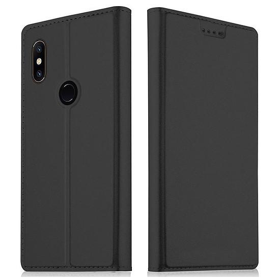 Coque et housse Akashi Paris Etui folio (noir) - Xiaomi Mi Mix 2S