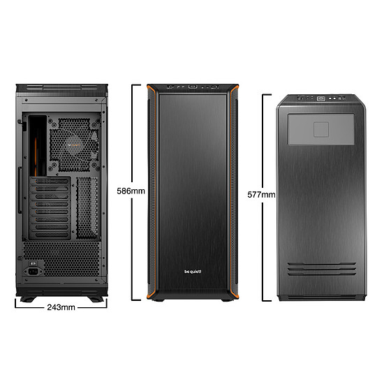 Boîtier PC Be Quiet Dark Base Pro 900 Rev.2 - Orange - Autre vue