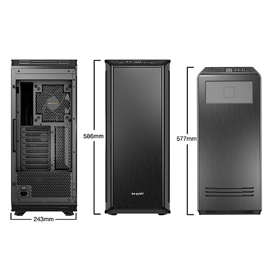 Boîtier PC Be Quiet Dark Base Pro 900 Rev.2 - Noir - Autre vue