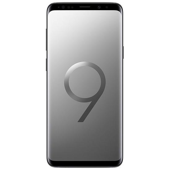 Smartphone et téléphone mobile Samsung Galaxy S9+ (gris titane) - 6 Go - 256 Go