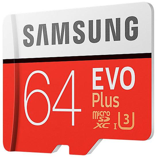 Carte mémoire Samsung Evo Plus SDXC 64 Go (100 Mo/s) + Adaptateur SD - Autre vue
