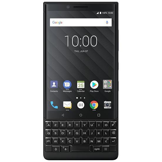 Smartphone et téléphone mobile BlackBerry KEY² (noir) - AZERTY