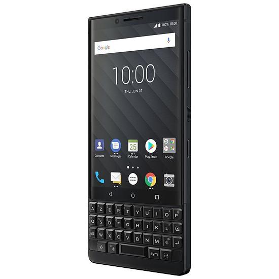 Smartphone et téléphone mobile BlackBerry KEY² (noir) - AZERTY - Autre vue