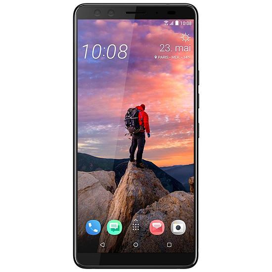 Smartphone et téléphone mobile HTC U12+ (bleu translucide) - 64 Go