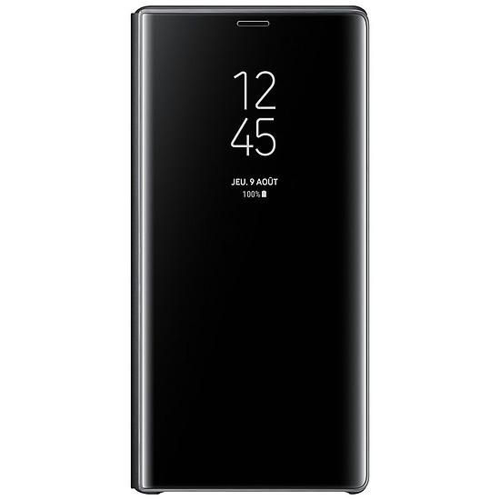 Coque et housse Samsung Clear view stand (noir) - Galaxy Note9