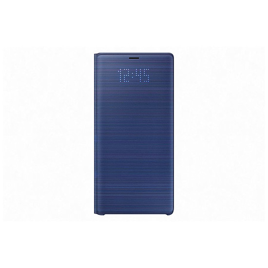Coque et housse Samsung LED view cover (bleu) - Samsung Galaxy Note9