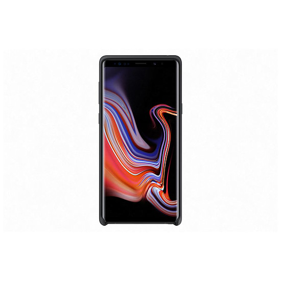 Coque et housse Samsung Coque silicone (noir) - Samsung Galaxy Note9