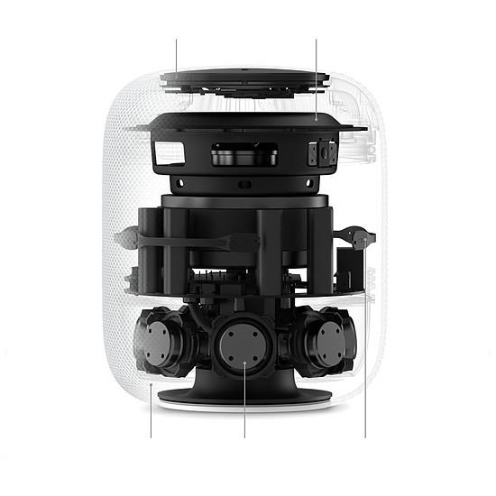 Enceinte sans fil Apple Homepod Blanc - Autre vue