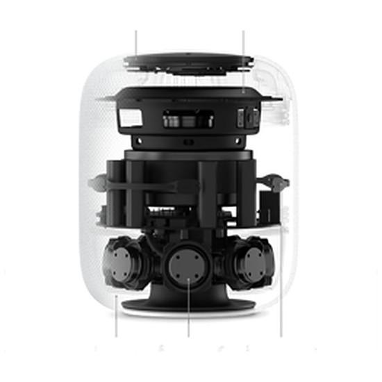 Enceinte sans fil Apple Homepod Gris sidéral - Autre vue